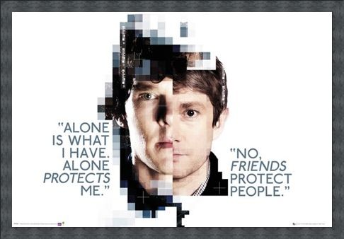 Framed Framed Alone Is What I Have - Sherlock
