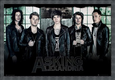 Framed Framed A New Start - Asking Alexandria