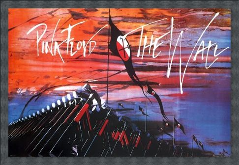 Framed Framed Hammer Time - Pink Floyd The Wall