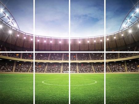 View Other Image View Other Image View Other Image. Football Stadium  Let The Games Begin Wall Mural   Buy Online