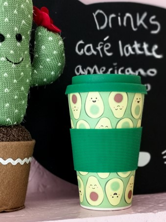 Eco-Friendly Bamboo Travel Mug