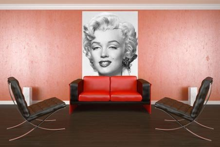 Marilyn Monroe 4 Sheet Celebrity Wall Mural Buy Line Part 91