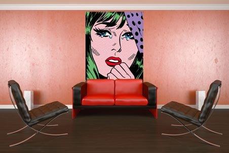 Tee Buzz S True Romance 4 Sheet Pop Art Wall Mural Buy