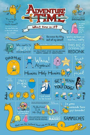 Redonk Infographics! - Adventure Time