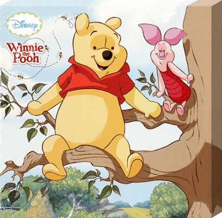 Pooh & Piglet Up A Tree - Walt Disney's Winnie The Pooh
