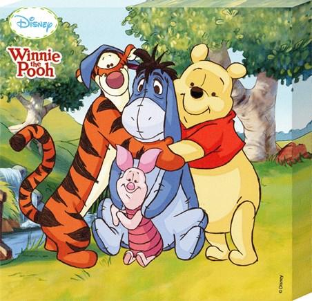 Pooh, Piglet, Eeyore & Tigger - Walt Disney's Winnie The Pooh