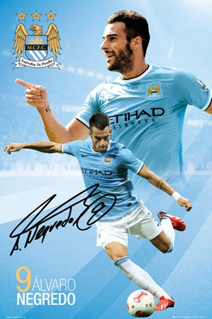 Alvaro Negredo, Manchester City Football Club