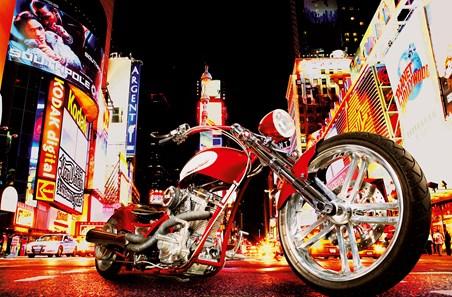 Midnight Rider by Todd Latimer - Motorbike Mini Mural