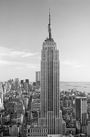 The Empire State Building by Henri Silberman - Photography Mini Mural