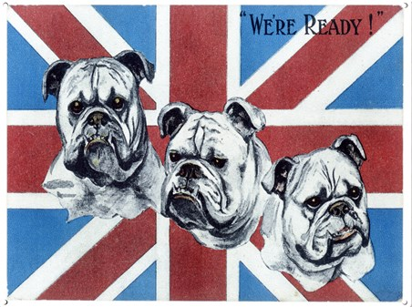 We're Ready! - British Bulldogs