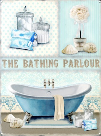 Framed The Bathing Parlour - Relax and Unwind