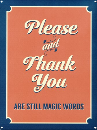 The Magic Words - Please & Thank You