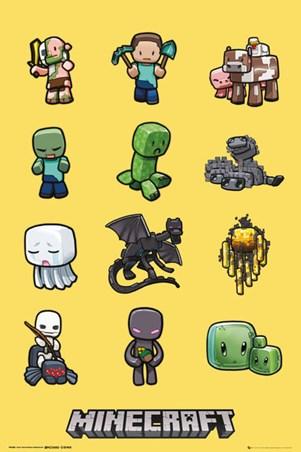 Minecraft Characters - Minecraft