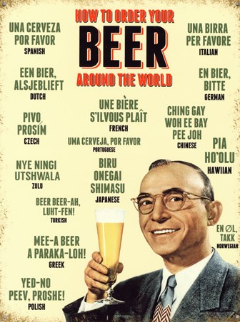 The Language of Beer - Retro Alcohol Advertising