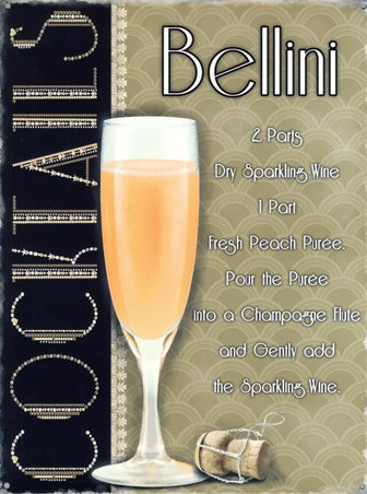 Bellini Time - Retro Cocktail Recipe