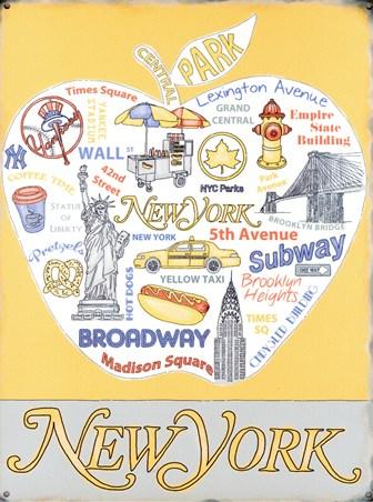 The Big Apple Landmarks - New York