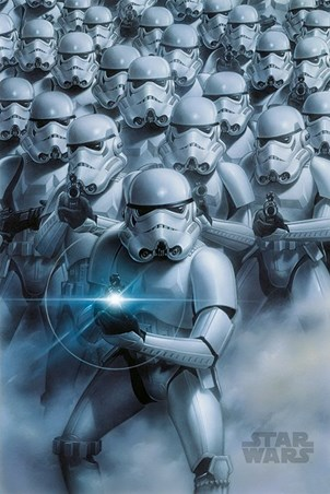 Stormtroopers Attack - Star Wars