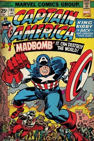 Madbomb! - Captain America