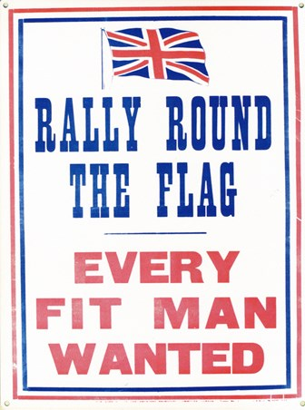 Rally Round The Flag - Retro Propaganda