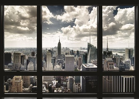 New York Window - Urban View