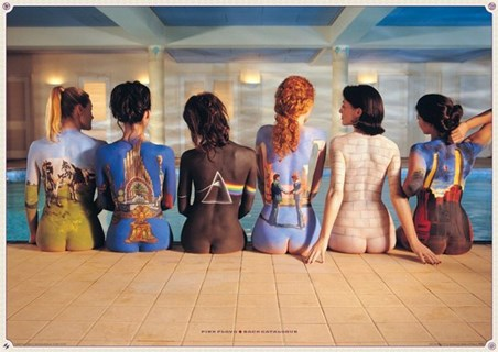 Framed Back Catalogue - Pink Floyd