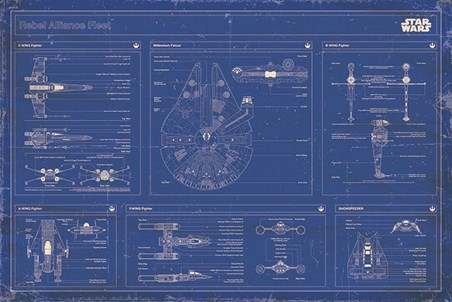 Rebel Alliance Fleet Blueprint - Star Wars