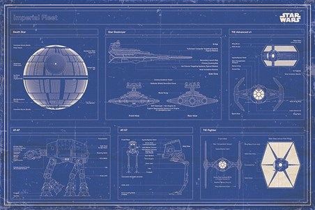 Imperial Fleet Blueprint - Star Wars