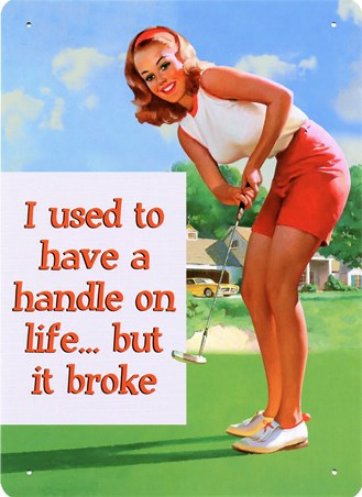 A Handle On Life - The Broken Woman