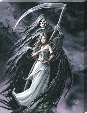 Summon The Reaper Canvas Print - Anne Stokes