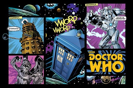 Framed Comicbook Style - Doctor Who