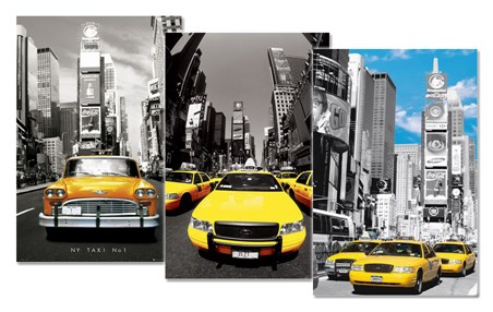 Yellow Cab Colourlight - 3 Pack Poster Bundle Deal