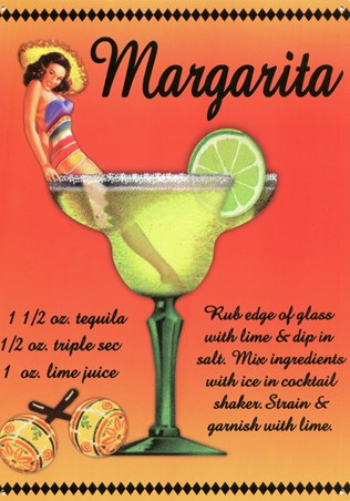 Margarita Girl - Eureka Lake Studio