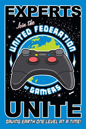 Saving the Earth - United Federation of Gamers