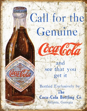 Call for the Genuine Article - Coca Cola