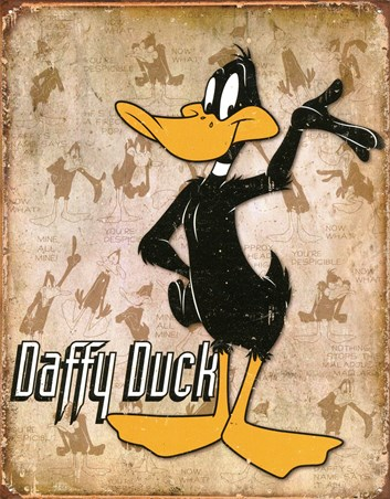 Retro Daffy Duck - Looney Tunes