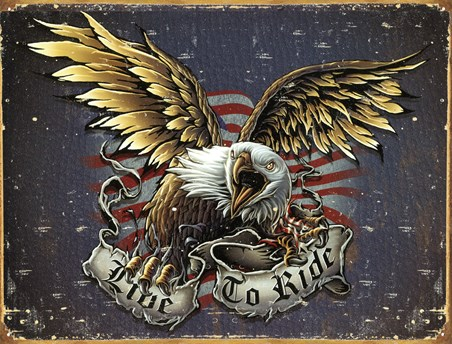 Eagle - Live To Ride