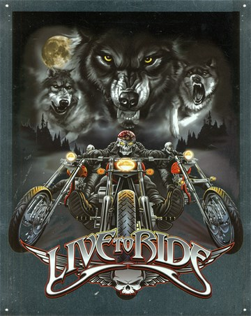 Wolves - Live To Ride