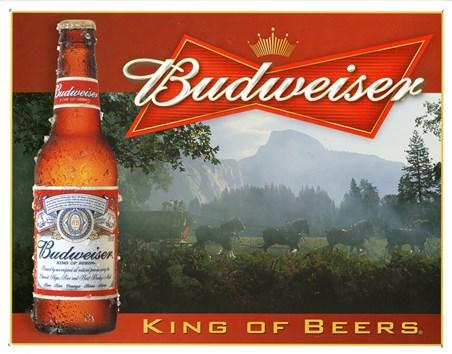 King Of Beers - Budweiser
