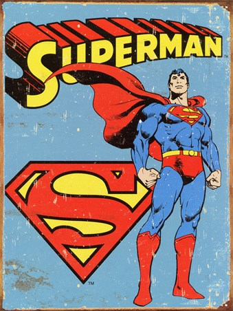 Retro Superman - DC Comics