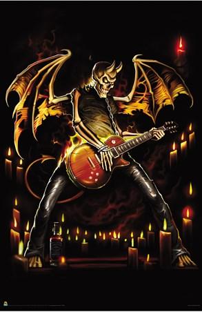 Guitar Hero - Skeleton Rock