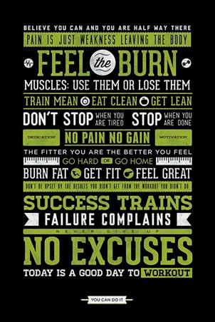 Gym Motivation - No Excuses