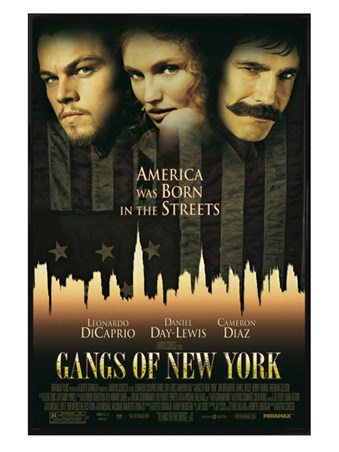 Gloss Black Framed Gangs Of New York - Epic Drama