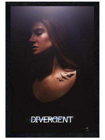 Black Wooden Framed Tris - Divergent