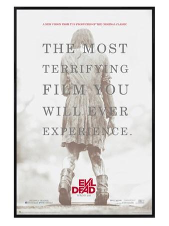 Gloss Black Framed A Terrifying Experience - The Evil Dead