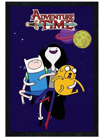 Black Wooden Framed Marceline - Adventure Time