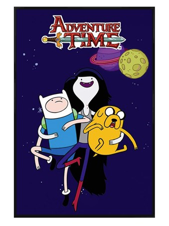 Gloss Black Framed Marceline - Adventure Time