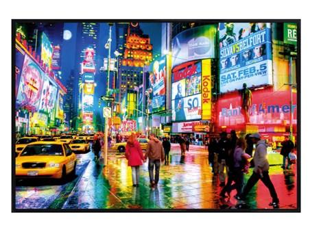 Gloss Black Framed Times Square - New York City