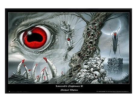 Gloss Black Framed Lovecraft'S Nightmare B - Michael Whelan