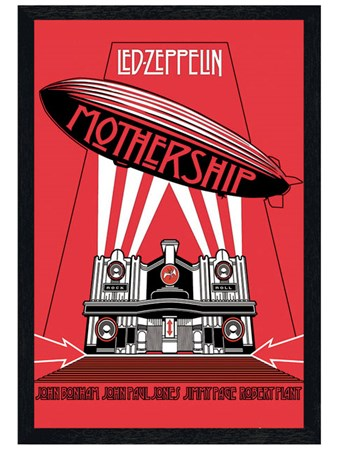 Black Wooden Framed The Mothership Framed Poster
