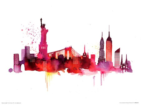 New York Skyline - Summer Thornton